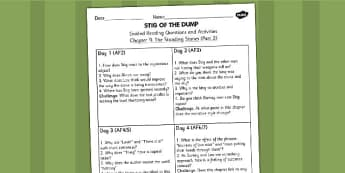 Stig of the Dump Guided Reading Questions Chapter 9 Part 2