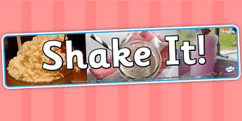Shake It Photo Display Banner - science, IPC, banner