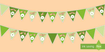 Welcome to Year One Fingerspelling Display Bunting - welcome to year one bunting, welcome to year 1 bunting,Welcome To Class, Classroom Display, Welcome,