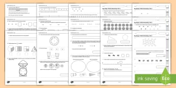 KS1 Practice Reasoning 4 - 6 Test Resource Pack - KS1 - Practice Reasoning Tests, Key Stage 1, Y2, Year 2, mastery, assessment, SATs