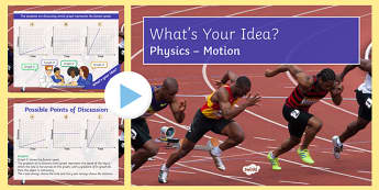 KS3 Motion What's Your Idea? PowerPoint