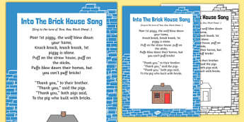 Into The Brick House Song