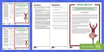 KS2 Burns Night Bash - Making Inferences Activity Sheet - KS2, Robert Burns, inference, evidence, clues, reading, understanding, comprehension, meaning, poetr