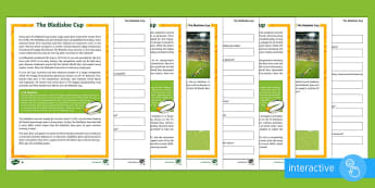 5-6 Bledisloe Cup Differentiated Comprehension Go Respond  Activity Sheets - bledisloe cup, rugby, union, reading, comprehension, australia, new zealand, wallabies, all blacks,