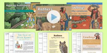 Year 3 Term 2 Reading Assessment Bumper Resource Pack - Year 3, y3, term 2, Reading Assessment Guided Lesson PowerPoints, KS2, reading, read, assessment, gu