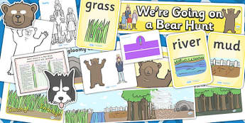 Childminder We're Going on a Bear Hunt Resource Pack - activities