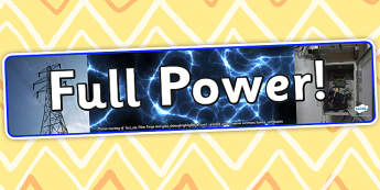 Full Power Photo Display Banner - full power, IPC display banner, IPC, power display banner, IPC display, power IPC banner, power display