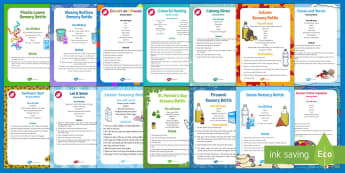 Sensory Bottles Resource Pack - Sensory Ideas, Visual Impairment, Dementia, Activity Co-ordinators, Support, Sensory, Elderly Care,