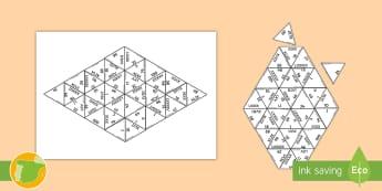Puzzle: Los números romanos - cifras, numeración romana, unir, emparejar, ,Spanish