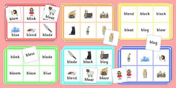 BL Bingo - bl sound, bingo, game, activity, sound, bl, sen, bingo game