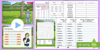 Year 6 Term 1A Week 4 Spelling Pack - Spelling Lists, Word Lists, Autumn Term, List Pack, SPaG