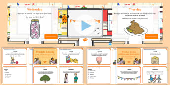 Week 22 - Problem Solving - One a day - Resource Pack - Word Problems, Addition, Subtraction, Challenge, Solving, RUDE, Irish