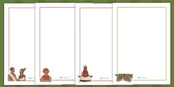 History of Benin Edo Version of Events Story Page Borders
