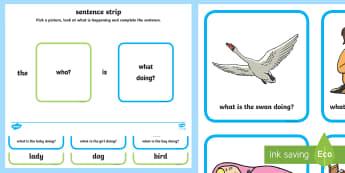 What Picture Description Cards - describing cards, picture cards