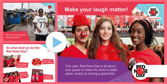 Red Nose Day 2017 Secondary Assembly Pack - Red Nose Day 2017, assembly