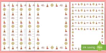 Asalha PujaBorder Pack - wesak, vesak, buddah, buddism,