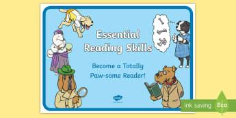 SATs Survival Year 2 Reading Skills Display Poster - SATs Survival Year 2 Reading Skills A4 Display Poster - SATs Survival Materials Year 2, SATs, assess