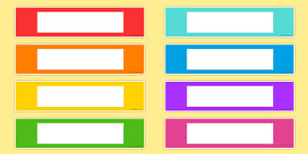 Coloured Editable Gratnells Tray Labels - tray labels, colours