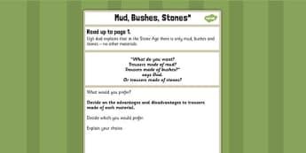 Mud Bushes Stone Challenge Activity to Support Teaching on Ug - ug, challenge, activity