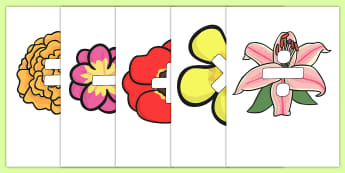 Maths Symbols on Flowers - maths symbols, mathematic symbols, maths on flowers, mathematics, math signs
