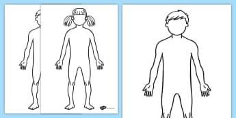 Body Outline Sheet