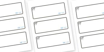 Zebra Themed Editable Drawer-Peg-Name Labels (Blank) - Themed Classroom Label Templates, Resource Labels, Name Labels, Editable Labels, Drawer Labels, Coat Peg Labels, Peg Label, KS1 Labels, Foundation Labels, Foundation Stage Labels, Teaching Labels