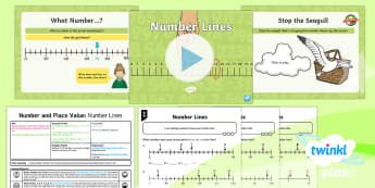 PlanIt Y2 Number and Place Value Different Representations (2) Lesson Pack - number line, numberline, representation, two-digit, Count, read, Write, year 2, plans, planning, ppt