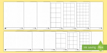 Dotty Paper Resource Pack - KS2, Maths, isometric, dot paper, dotty paper, square, grid, geoboard, shape.