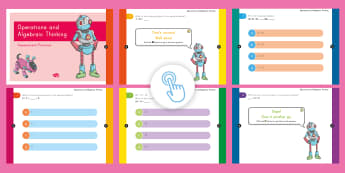 3rd Grade Operations and Algebraic Thinking Assessment Practice Quick Quiz - Common Core Math, online assessment, boy, moy, eoy, operations and algebraic thinking, OA