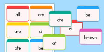Dolch Word Flashcards Primer - dolch, english, word, flashcards, fluency, read, key, primary, reading, usa