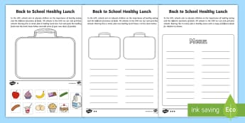 Healthy Lunch Box Differentiated Activity Sheets - healthy eating, lunch, box, UAE, food groups,