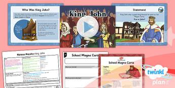 History: Riotous Royalty: King John LKS2 Lesson Pack 2