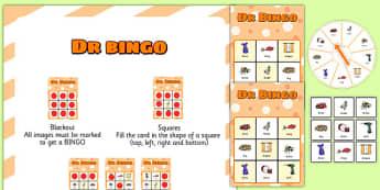 DR Spinner Bingo - dr, spinner bingo, spinner, bingo, activity, game
