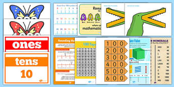 Number and Place Value Display Pack LKS2 - Download and Print