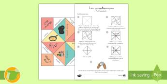 Comecocos: Los pasatiempos - Inglés  - hobbies, juego, lengua extranjera, inglés, english,Spanish-translation