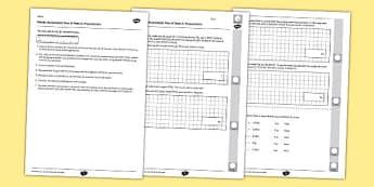 Year 6 Maths Assessment Term 2 Measurement - Key Stage 2, KS2, Maths, assessment, measurement, reasoning