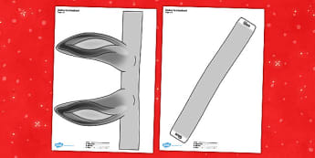 Printable Donkey Ears Headband - printable, donkey ears, headband, donkey