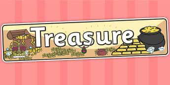 Treasure Display Banner - treasure, IPC, banner, display