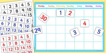 A4 Editable Calendar - editable, calendar, a4, edit, dates