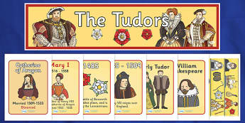 The Tudors Display Pack - the tudors, display pack, display banner, display photos, display, resource pack, display lettering, resources, classroom display