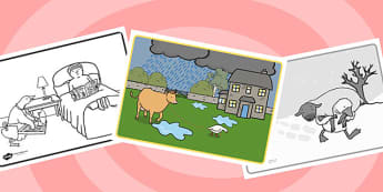 Farmer Duck Story Sequencing - farmer duck, story sequencing, story, story ordering, story sheets, farmer duck worksheets, themed story sequencing