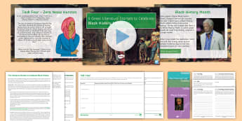 5 Literary Starters Resource Pack to Support Teaching On Black History Month - Black history month, black literature, zora neale hurston, maya angelou, slave stories, slave narrat