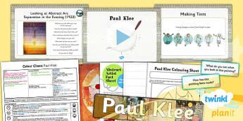 Art: Colour Chaos: Klee KS1 Lesson Pack 3