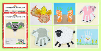 Farm Themed Craft Activity Pack - farm, themed, craft, activity