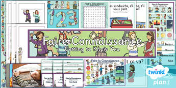 PlanIt - French Year 3 - Getting to Know You Additional Resources
