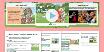 Gypsy, Roma and Traveller History Month Assembly Pack - KS1 & KS2 GRTHM, Gypsy, Roma, Traveller History Month, June, travellers, gypsies, Roma, fair ground