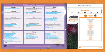 EYFS Enhancement Ideas and Resource Pack to Support Teaching on Meg and Mog - Early Years, continuous provision, early years planning, adult led, Helen Nicoll, witch, magic, Halloween, planning