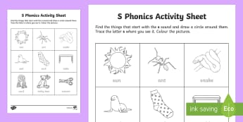 s Phonics Colouring Activity Sheet - Republic of Ireland, Phonics Resources, initial sounds, sounding out, colouring, activity sheet, pho