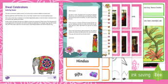 Editable Diwali Celebrations Letter Resource Pack - EYFS, Early Years, Key Stage 1, KS1, topic starter, topic introduction, Wow activities, lesson obser