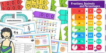 KS3 Maths Decimals Catch Up Resource Pack - ks3, maths, decimals